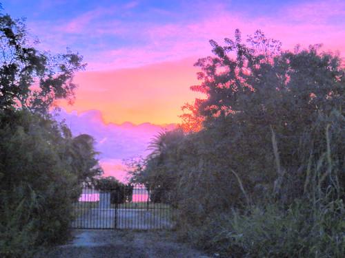 Sunrise at sundial Alley 20181023