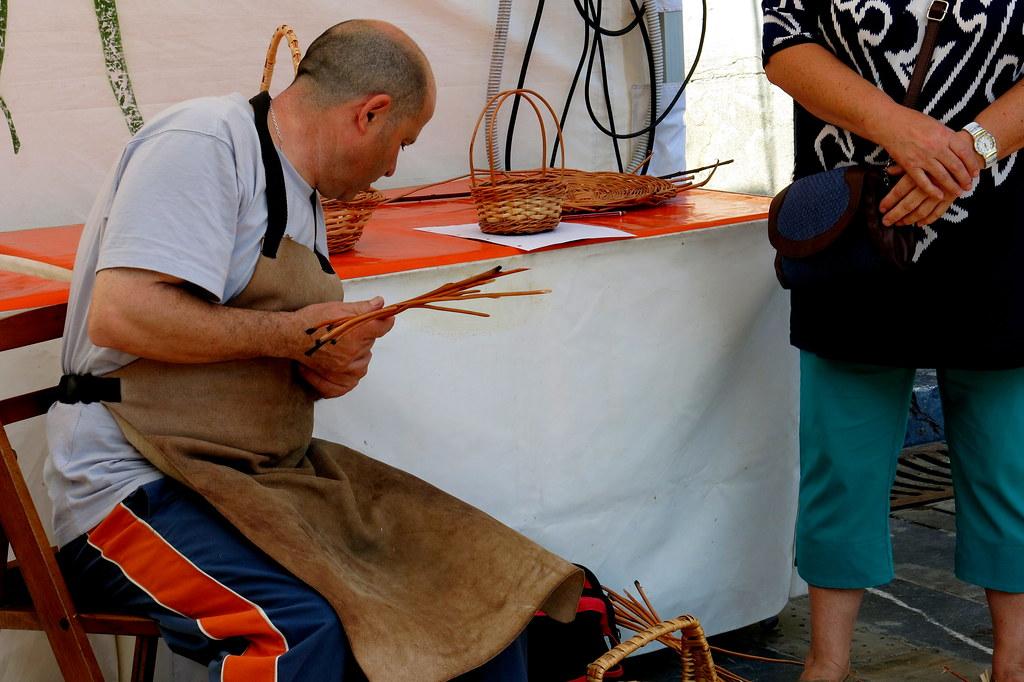 artesano cestero
