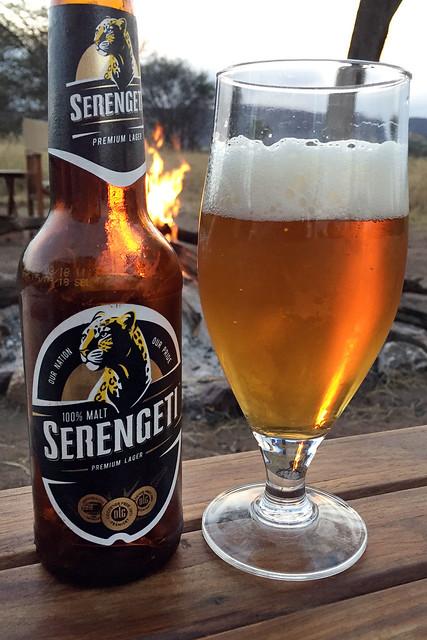 Serengeti lager, in the Serengeti