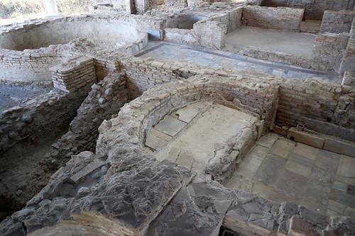 Villa romana di Palazzi di Casignana -  Ambienti vari
