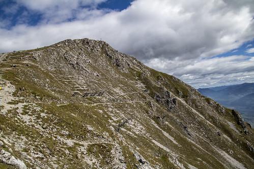 austria vacation europe innsbruck mountain side steep hafelekar