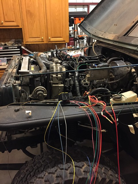 95 YJ 5.3L LS build - Jeep Wrangler Forum Jeep Wrangler Tj Heater Box Wiring Harness Fan Relay on