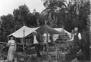 Christmas camp at Bulwer, Moreton Island, 1907