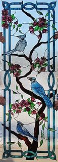 umělecké dekorační sklo