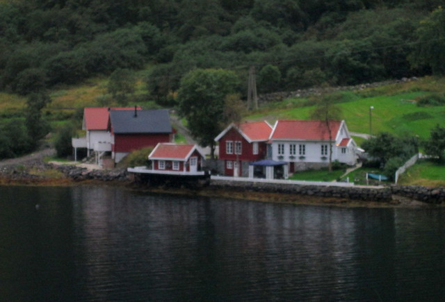 More Houses, Nærøyfjord, Norway