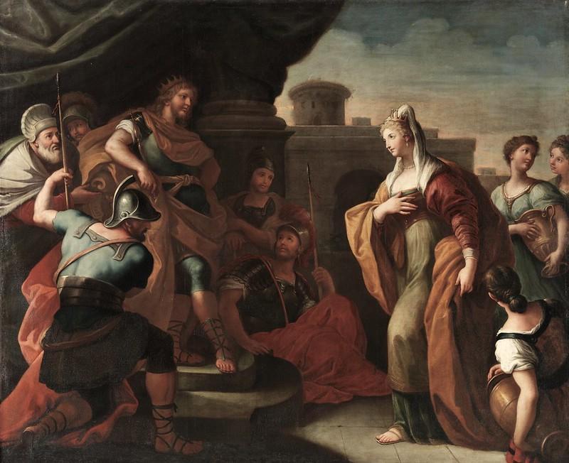 Paolo de Matteis - Salomón y la reina de Saba