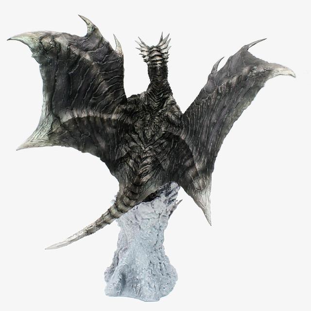 在暴風中飛舞的黑色身影!CFB《魔物獵人》Creator's Model 鋼龍/風翔龍 庫沙爾達歐拉(鋼龍 クシャルダオラ)【復刻版】