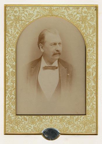 Portrait of Jean-Baptiste Moens, 1887.