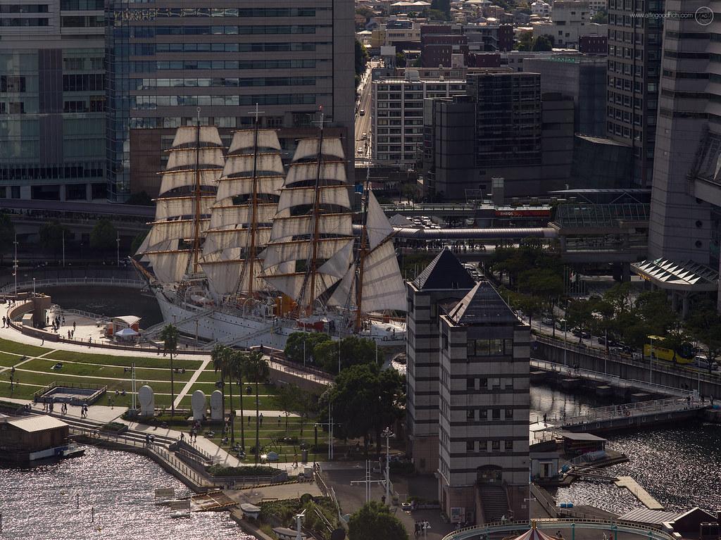 Nippon Maru in full sail