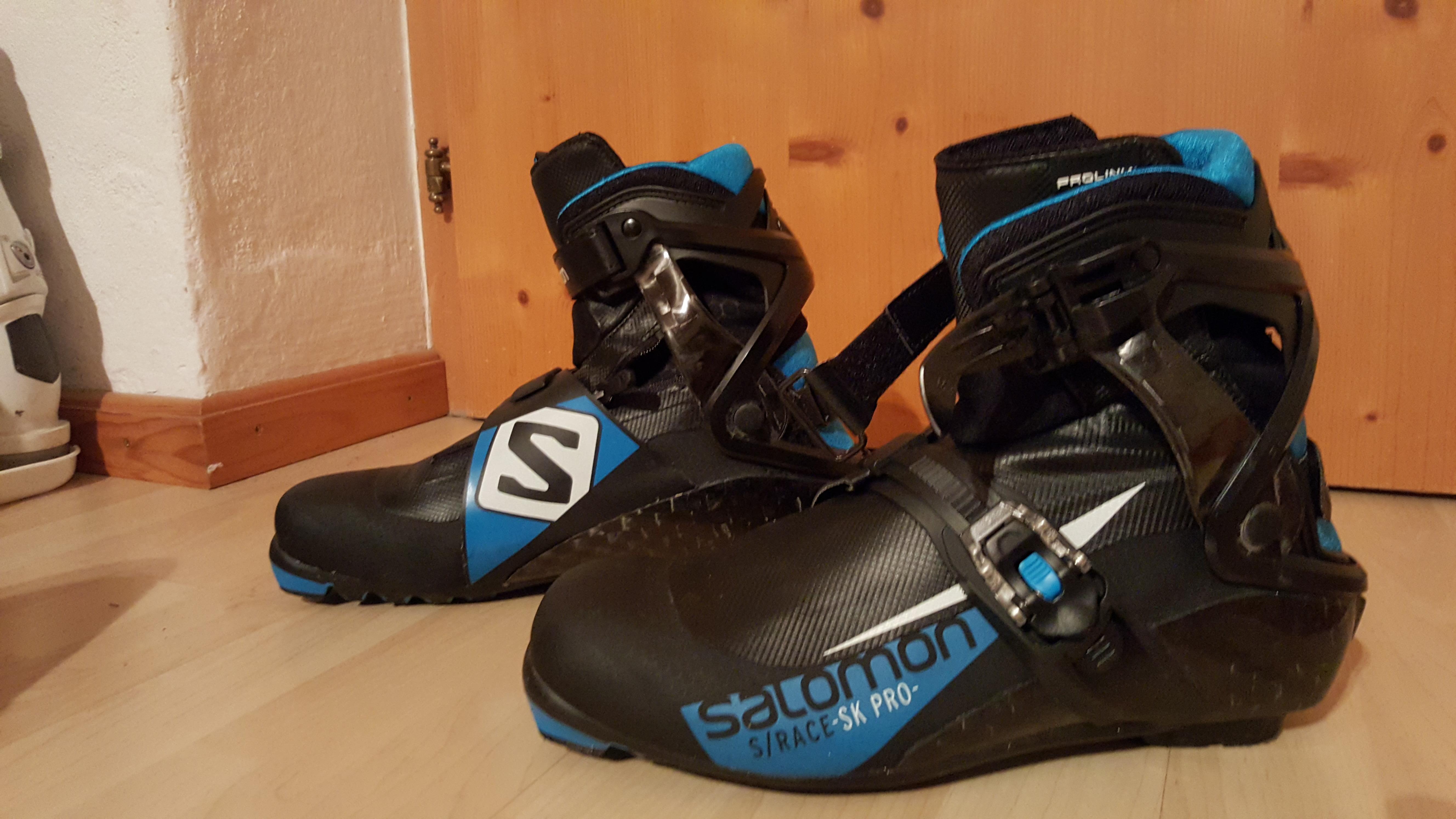 Závodní boty na skate SALOMON - Bazar - Běžky.net 26a4984b52