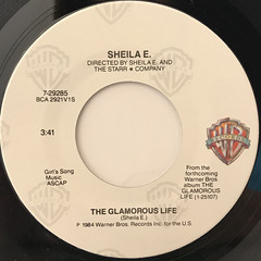 SHEILA E.:THE GLAMOROUS LIFE(LABEL SIDE-A)