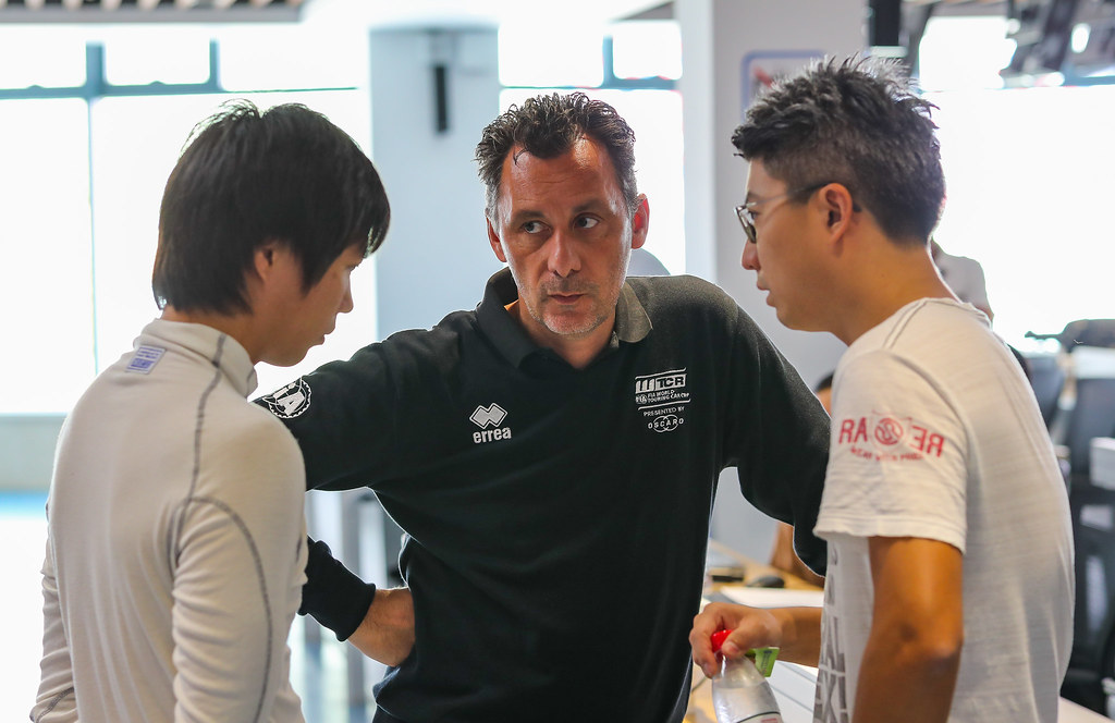 RIBEIRO François, WTCR Eurosport Motorsport Director, MA Qing Hua (chn), Honda Civic TCR team Boutsen Ginion Racing, portrait, during the 2018 FIA WTCR World Touring Car cup of China, at Ningbo  from September 28 to 30 - Photo Marc de Mattia / DPPI