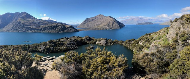 Lake in Lake - Wanaka, New Zealand