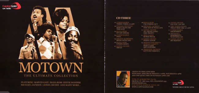 Fshare] - VA - The Ultimate Collection, Motown - CD3 (2006) [FLAC