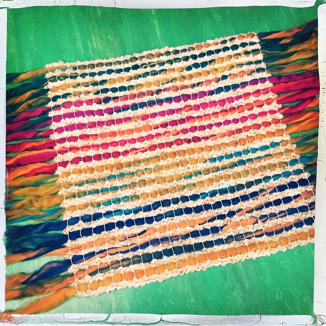 Loom Weaving # 2