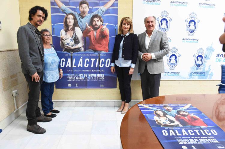 RUEDA DE PRENSA PRESENTACIÓN ESPECTÁCULO TEATRAL GALACTICO8