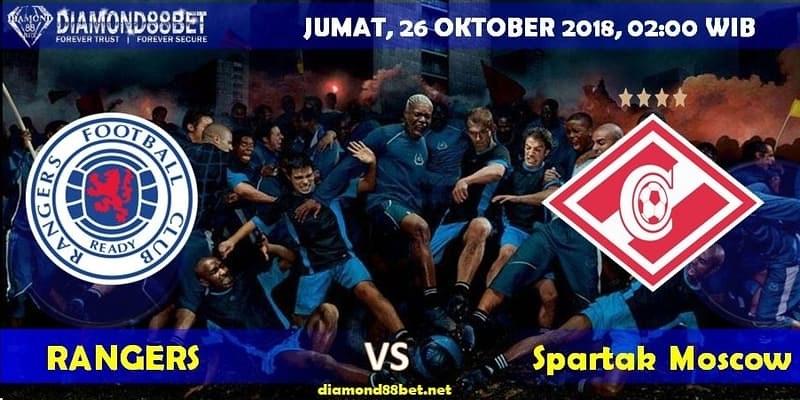 Info Prediksi Bola RANGERS vs Spartak Moscow 26 Oktober 2018