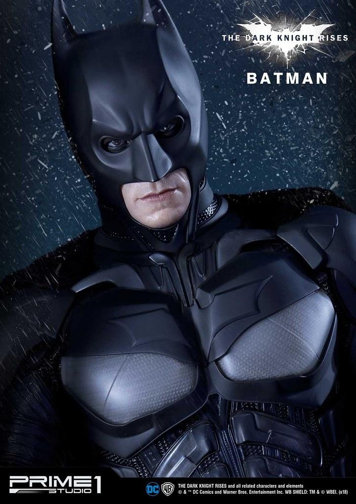 守護高譚的黑暗騎士再臨! Prime 1 Studio《黑暗騎士:黎明升起》蝙蝠俠 バットマン MMTDKR-02 1/3 比例全身雕像 普通版/EX版