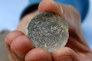 Caesarea gold hoard coin
