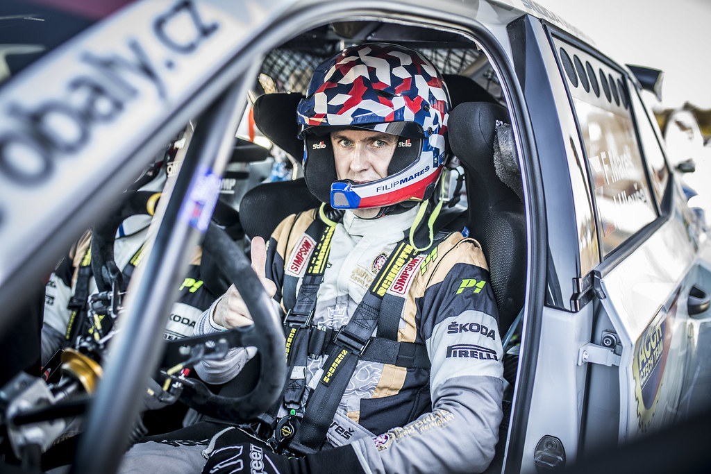 MARES Filip, (CZE), ACCR Czech Rally Team, Skoda Fabia R5, Portrait during the 2018 European Rally Championship ERC Liepaja rally,  from october 12 to 14, at Liepaja, Lettonie - Photo Gregory Lenormand / DPPI