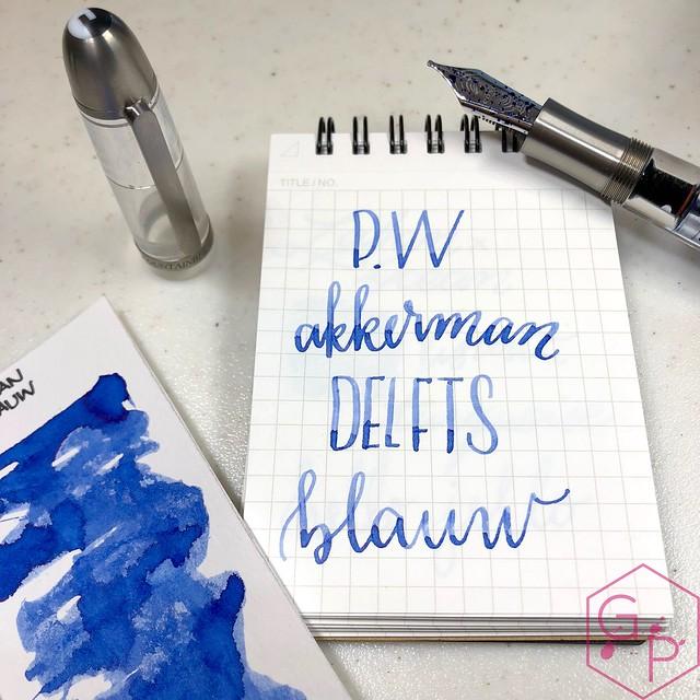 P.W. Akkerman Den Haag Delfts Blauw Ink 9