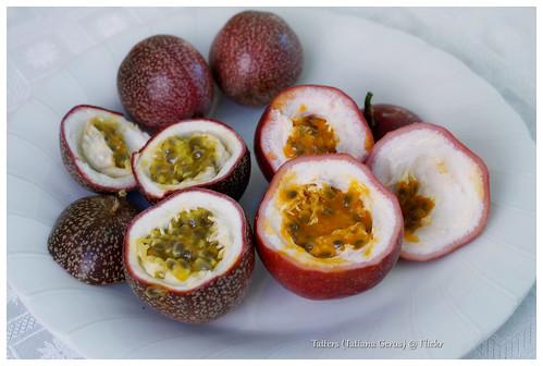 "Passionfruit variety -  ""Panama Red"" and ""Pandora"""