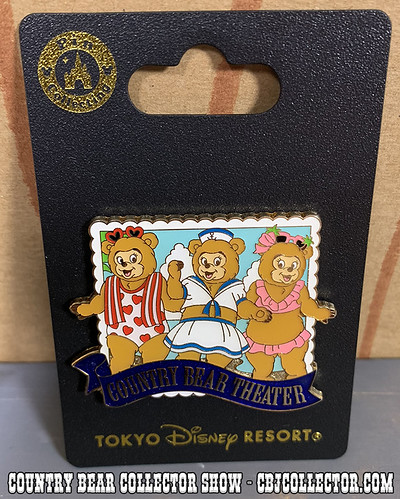 2018 Tokyo Disneyland Sun Bonnets Pin - Country Bear Collector Show #177