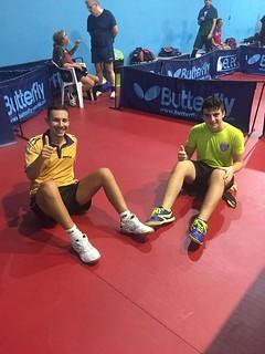 Maurizio Massarelli e Antonio Pellegrini