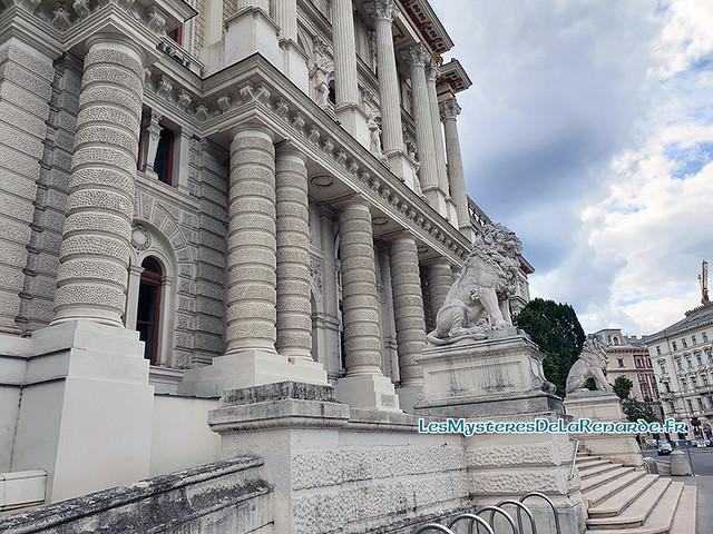 Palais de Justice Vienne