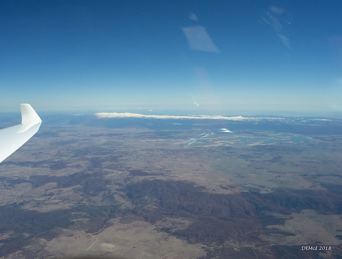 About 20,000ft over the Monaro
