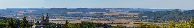 Upper Main Valley Panorama   Oberes Maintal Panorama - Bad Staffelstein
