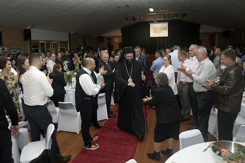 Владика Силуан напушта црквену салу
