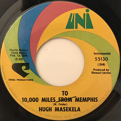 HUGH MASEKELA:GETTIN' IT ON(LABEL SIDE-B)