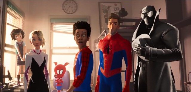 New Spider-Man: Into The Spider-Verse Trailer Introduces The Spider-Family
