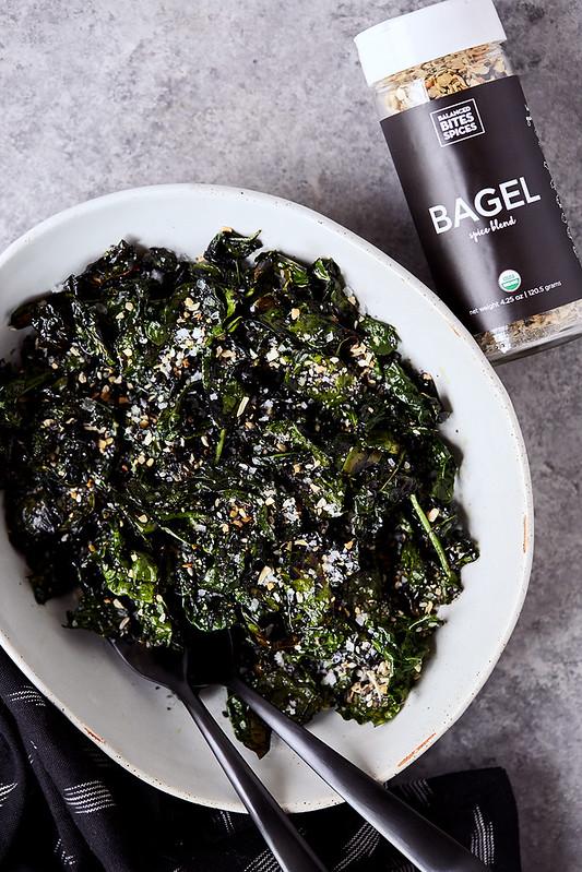 Cast Iron Skillet Crispy Kale