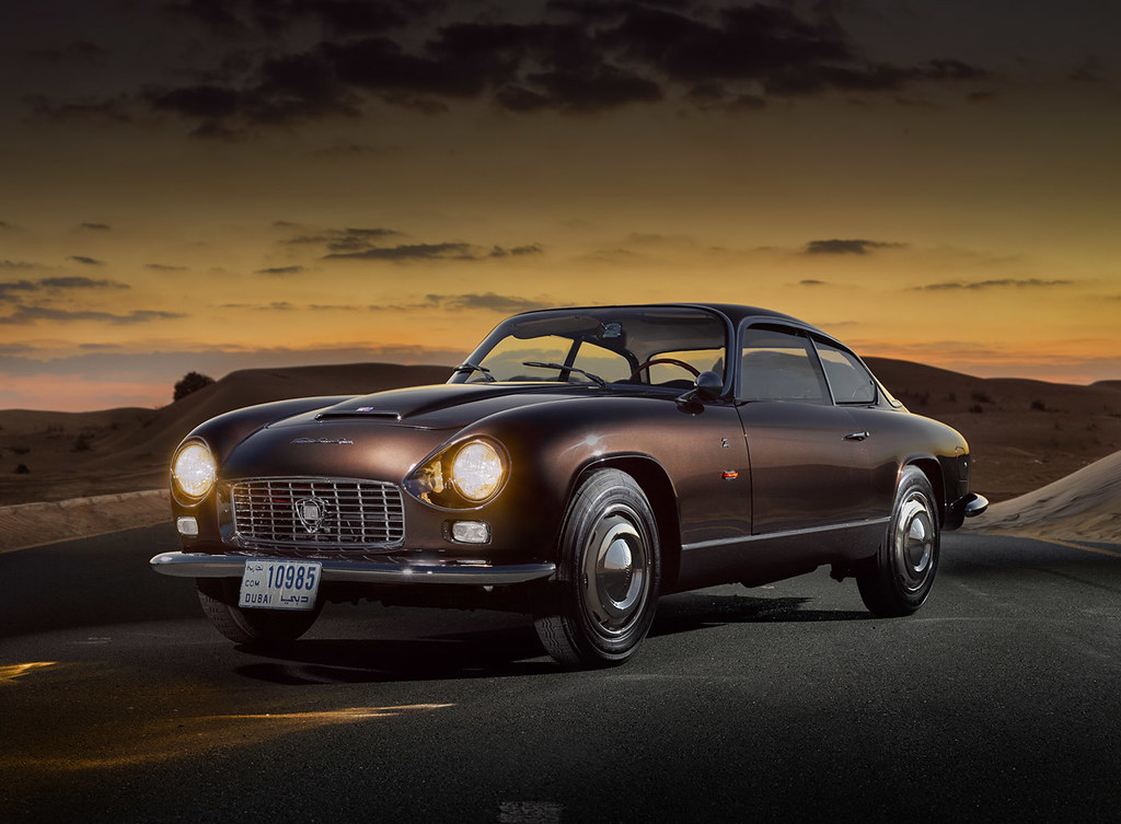 Lancia Flaminia Zagato Super Sport.