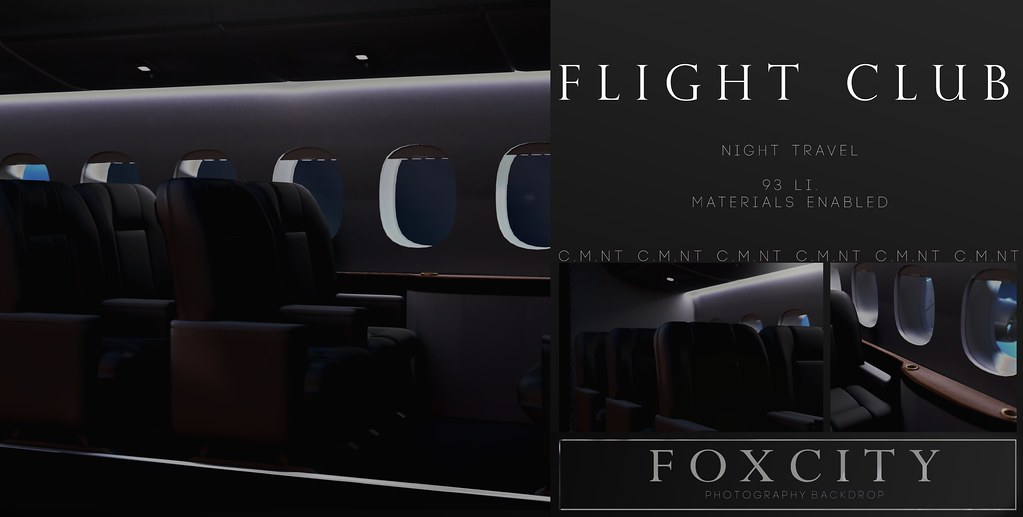 FOXCITY. Flight Club (Night) @Kustom9