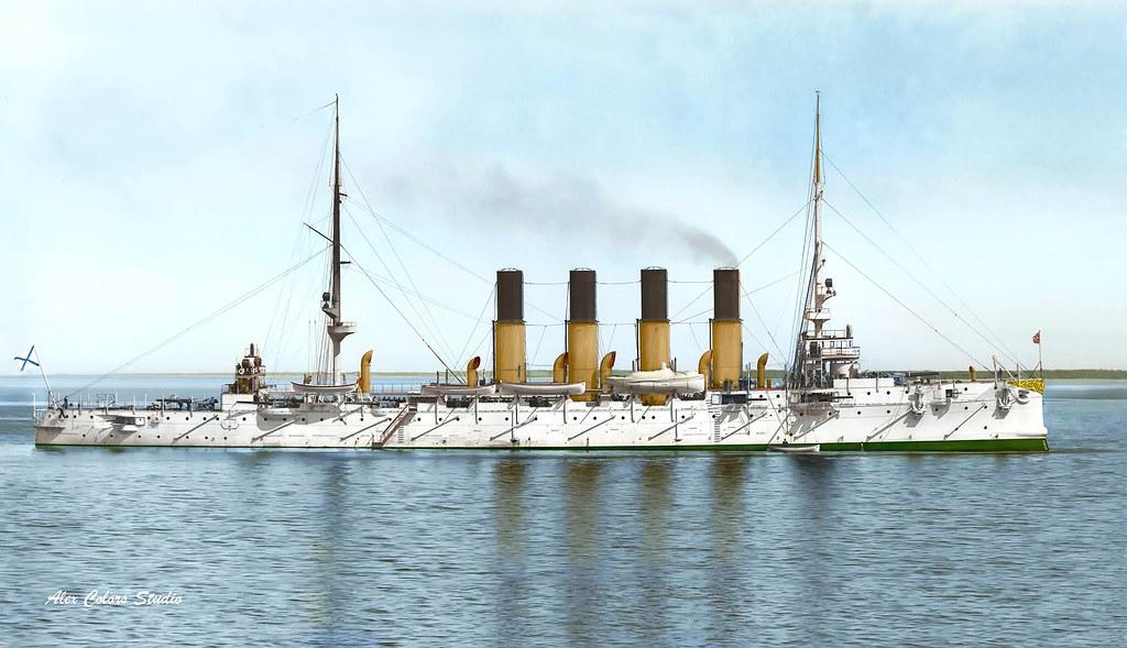 Крейсер I ранга «Варяг», 1901 г.
