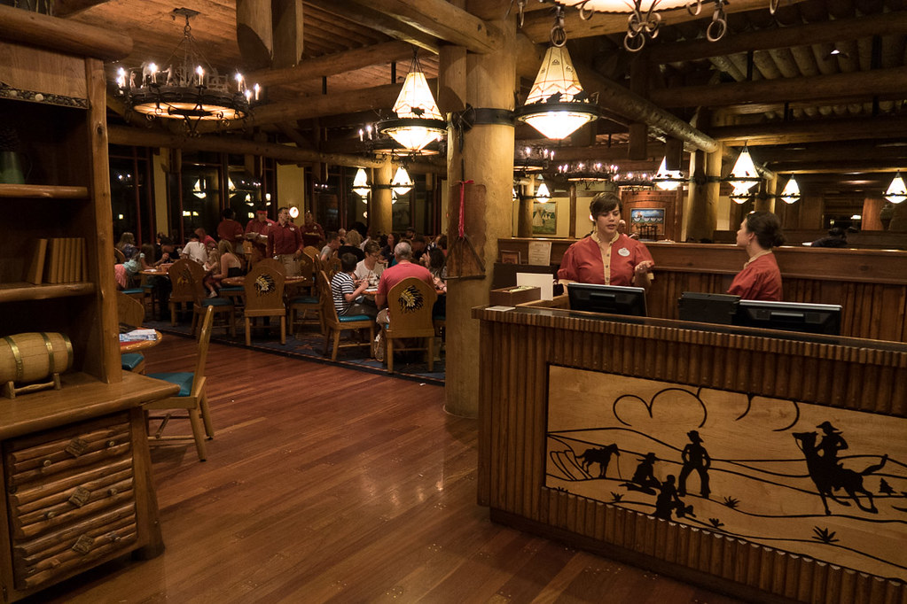 Inside Whispering Canyon Cafe