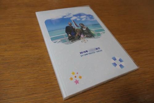 誕生日プレゼントのアルバム