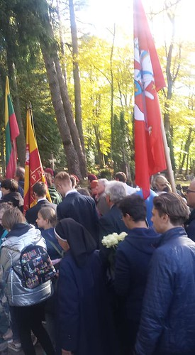 A.Ramanausko-Vanago laidotuvės