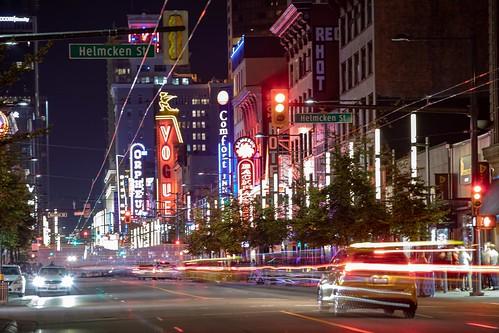 City night streets