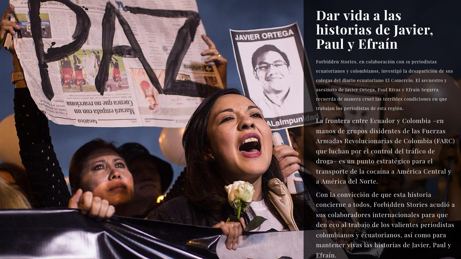 asesinato de periodistas