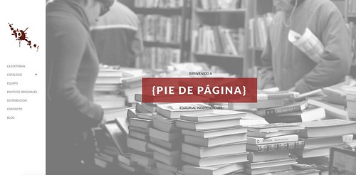Editorial Pie de Página