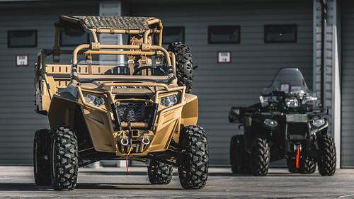 Nacionālajiem bruņotajiem spēkiem piegādāti ASV militārie  taktiskie transportlīdzekļi