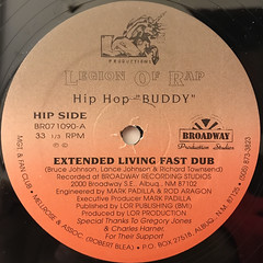LEGION OF RAP:HIP HOP BUDDY(LABEL SIDE-A)