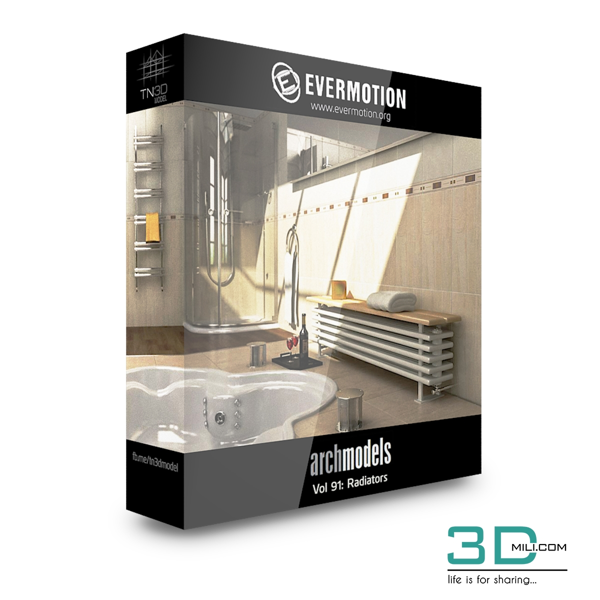 Evermotion Archmodels Vol 91: Radiators - 3D Mili - Download 3D