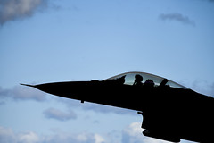 A U.S. Air Force F-16 Fighting Falcon takes off from Misawa Air Base, Japan, during exercise Keen Sword, Nov. 1. (U.S. Air Force/Senior Airman Sadie Colbert)