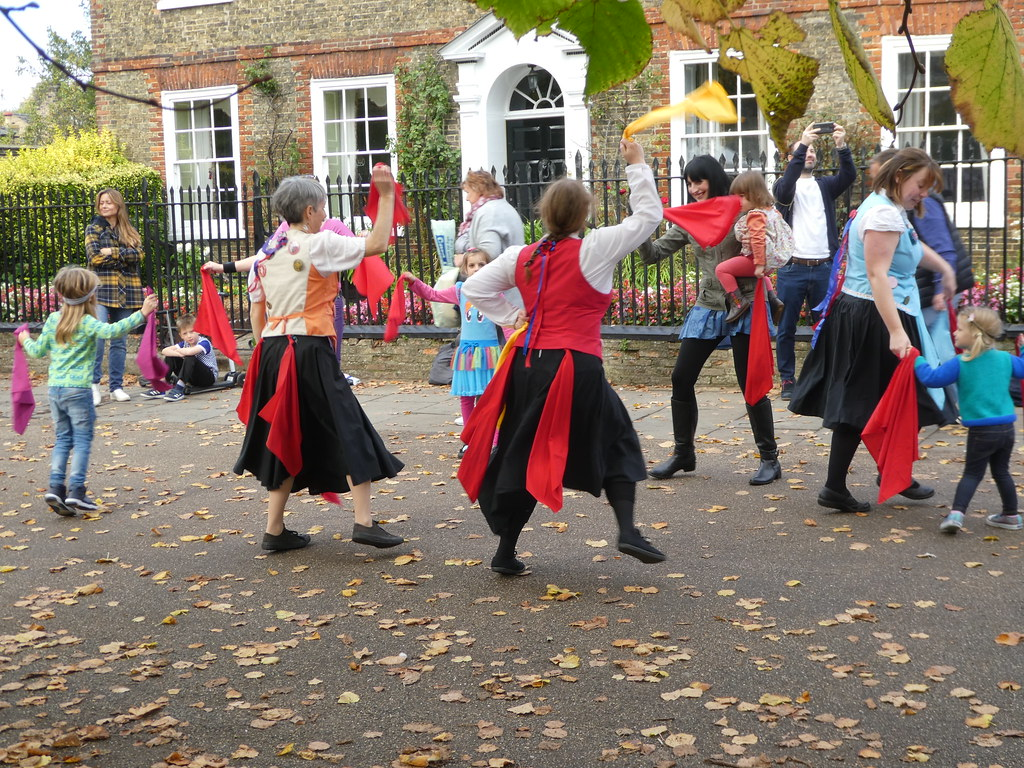 Morris Dancing, Apple Festival, Palace Green, Ely