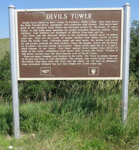 Devils Tower Marker (Crook County, Wyoming)